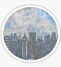 CitySphere Sticker
