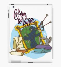 Creative Adventurer iPad Case/Skin