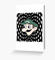Hypnotic WeeGee Greeting Card