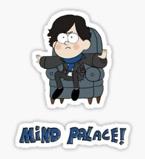 Sherlock Gravity Falls Sticker