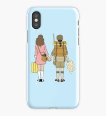 Moonrise Kingdom - Suzy & Sam iPhone Case/Skin