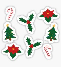 Christmas Theme Sticker