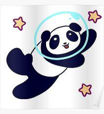 Póster Espacio Panda