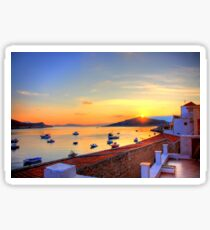 Halki Sunrise Sticker