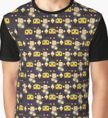 Servbots, Birdbots and Data The Monkey pattern (Megaman Legends UNOFFICIAL) Graphic T-Shirt