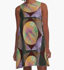 Abstract 7 A-Line Dress