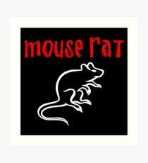 Mouse Rat Art Print