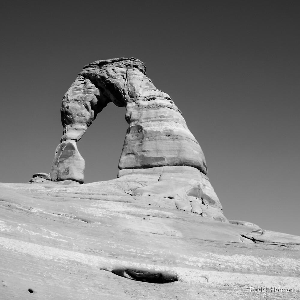 Delicate Arch by Radek Hofman