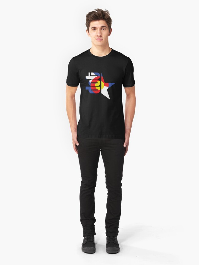 Alternate view of DotStar Studios x Colorado Love Slim Fit T-Shirt