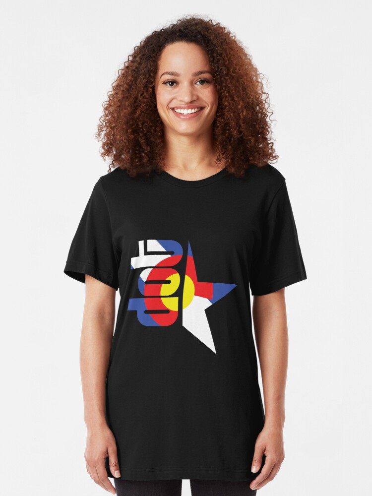 Alternate view of DotStar Studios x Colorado Love Slim Fit T-Shirt