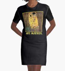 Klimt The Kiss  Art Matters  Graphic T-Shirt Dress
