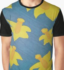 Pop Art Daffodils Graphic T-Shirt