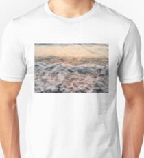 Bubbles in Motion - Playing in the Surf at Sunrise T-Shirt