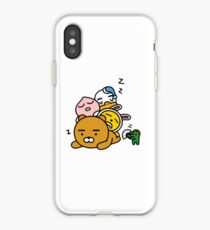 Kakaotalk Friends (Zzz) iPhone Case