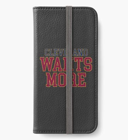 Cleveland will mehr iPhone Flip-Case