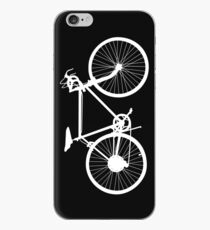 bicycle  white iPhone Case