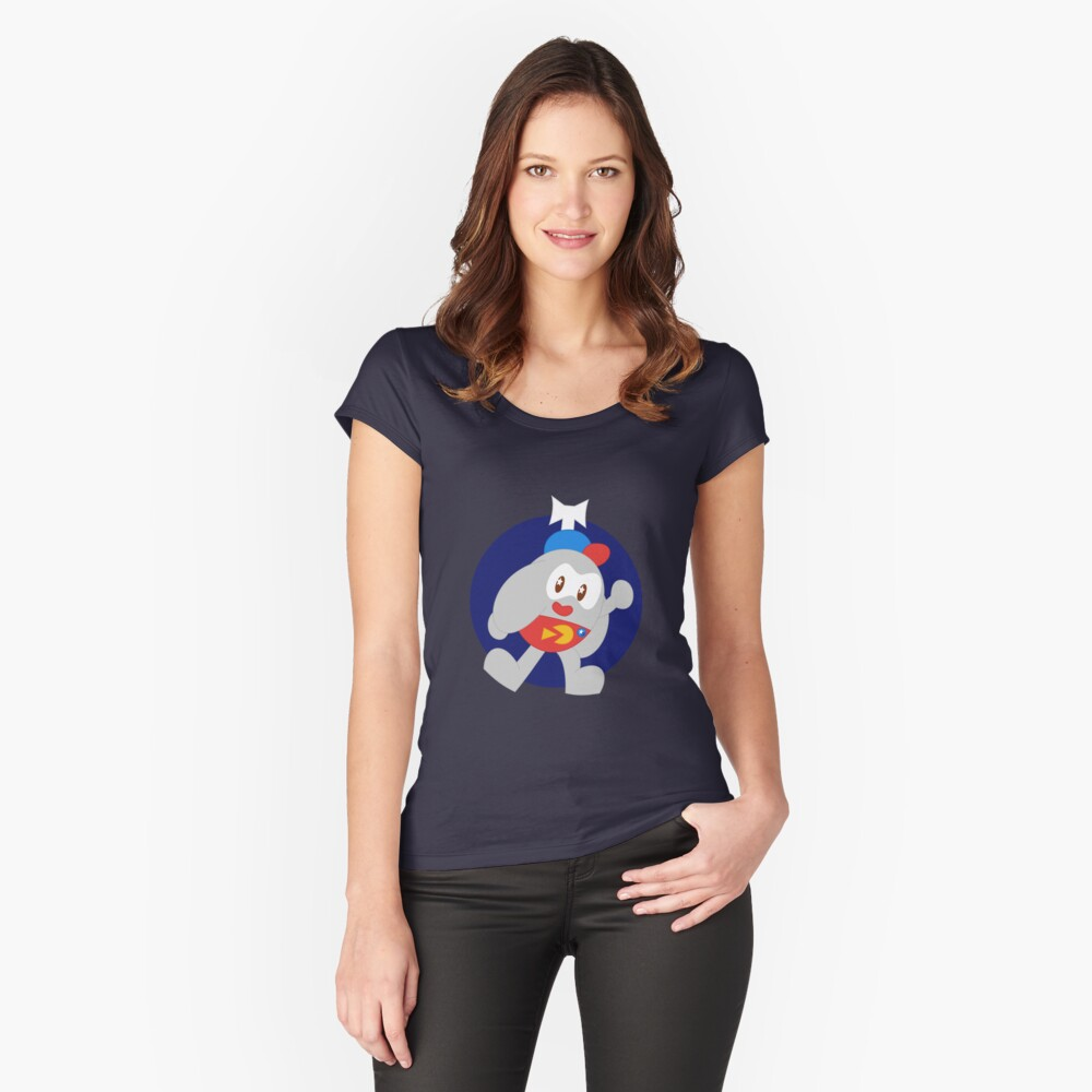 Lu9 Women's Fitted Scoop T-Shirt Front