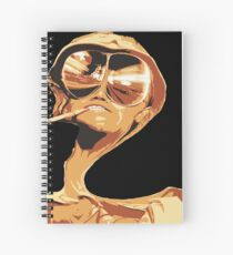 Fear and Loathing in las Vegas Spiral Notebook