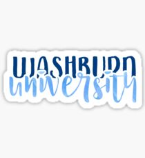 Washburn University - Style 1 Sticker