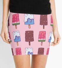 Icey Icy Ice Creamy Mini Skirt
