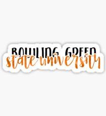 Bowling Green State University - Style 1 Sticker