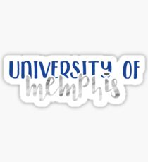 University of Memphis - Style 1 Sticker