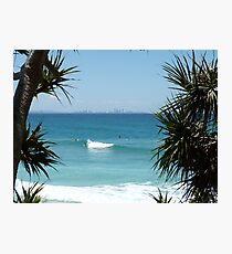 Surfers Paradise Framed Photographic Print