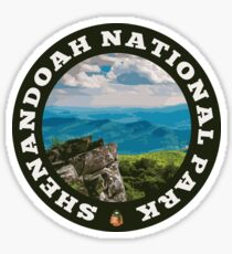 Shenandoah National Park circle Sticker