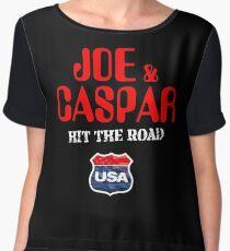 JOE & CASPER HIT THE ROAD 2016 Women's Chiffon Top