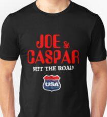 JOE & CASPER HIT THE ROAD 2016 Unisex T-Shirt