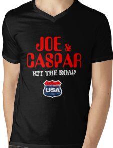 JOE & CASPER HIT THE ROAD 2016 Mens V-Neck T-Shirt