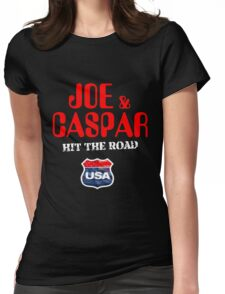 JOE & CASPER HIT THE ROAD 2016 Womens Fitted T-Shirt
