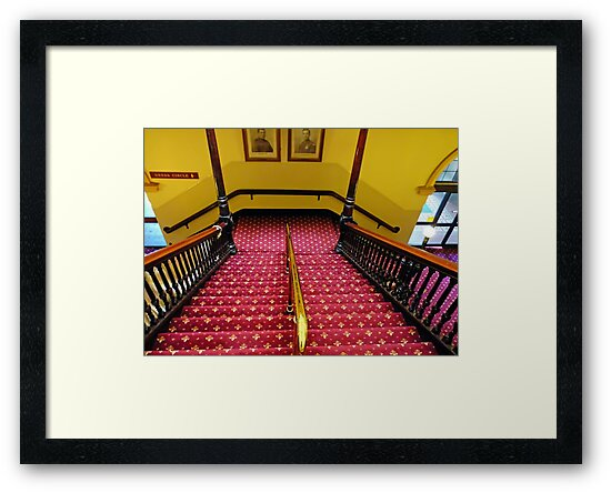 Dress Circle Stairs by V1mage
