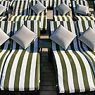 Deck Chair Comfort on The Rear Deck by Paul Gilbert