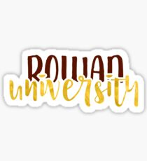 Rowan University - Style 1 Sticker