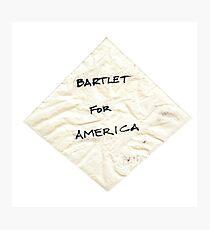 Lámina fotográfica Bartlet para American Napkin