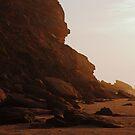 sunrise shore by Hannele Luhtasela-el Showk