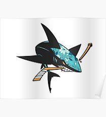 #soft Jose Sharks Poster