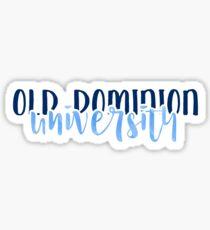 Old Dominion University - Style 1 Sticker