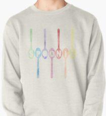 Spoonie Spoons Watercolor Pullover