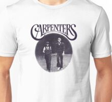 "Carpenters, Karen and Richard 1972 ""Sing"" design Unisex T-Shirt"