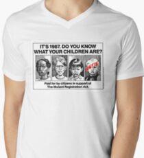 Mutant Advert Men's V-Neck T-Shirt
