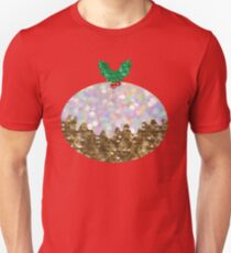 sequin christmas pudding Unisex T-Shirt