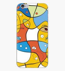 Vinilo o funda para iPhone Mixed Up - Los Simpson
