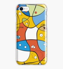 Mixed Up - The Simpsons iPhone Case/Skin