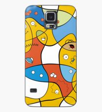 Mixed Up - The Simpsons Case/Skin for Samsung Galaxy