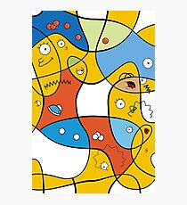 Mixed Up - The Simpsons Photographic Print