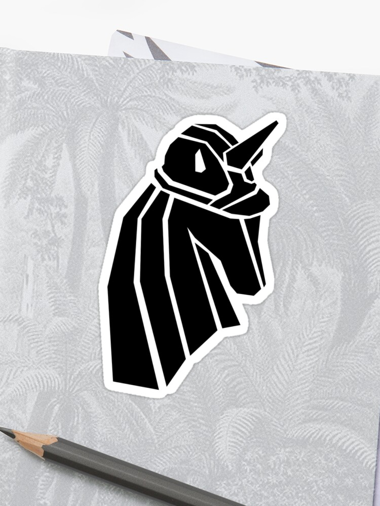 Unicorn Workhorse Logo Block-Style | Sticker