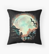 Spirited Night Throw Pillow