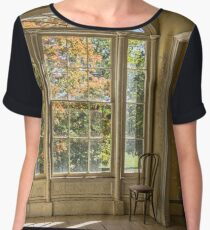 Chair With a View Chiffon Top